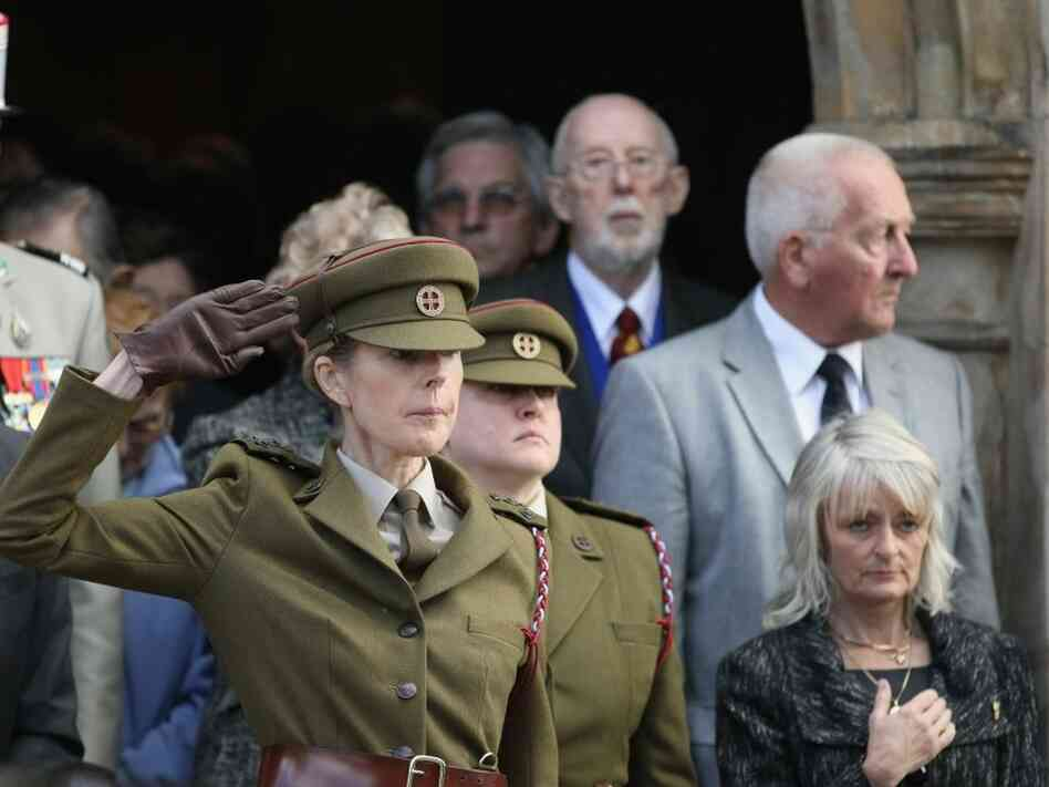 The Funeral Takes Place Of Former SOE Agent And War Heroine Eileen Nearne