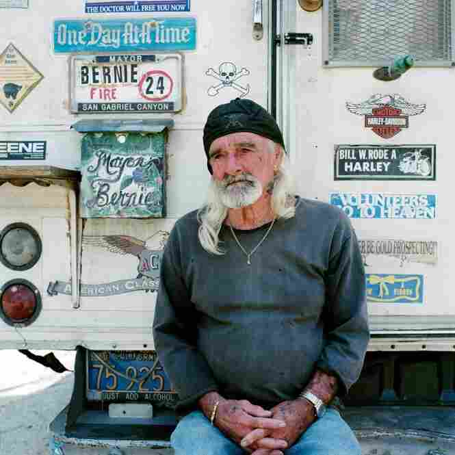 "Bernie McGrath is the unofficial ""Mayor"" of Nugget Alley, a home to many prospectors. His title was given about 10 years ago by other prospectors as a sign of respect."