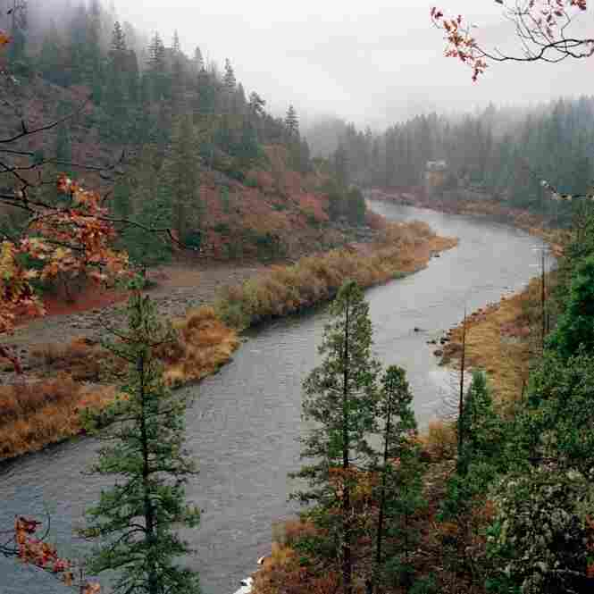The Klamath River that cuts through California was a Gold Rush destination. Today, it is still a site for prospectors.