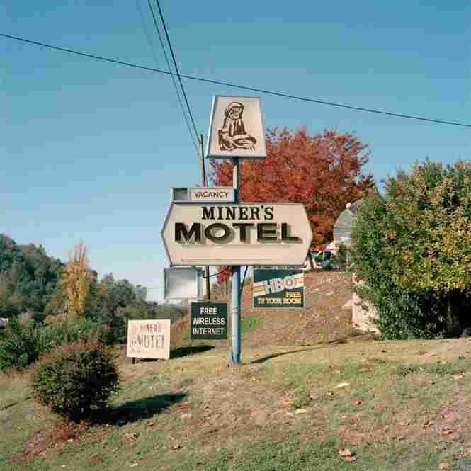 Miner's Motel sits along Historic Highway 49, Jamestown, Calif.