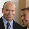Matrin Gill, with his attorney Robert Rosenwald