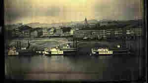 Cincinnati waterfront in 1848