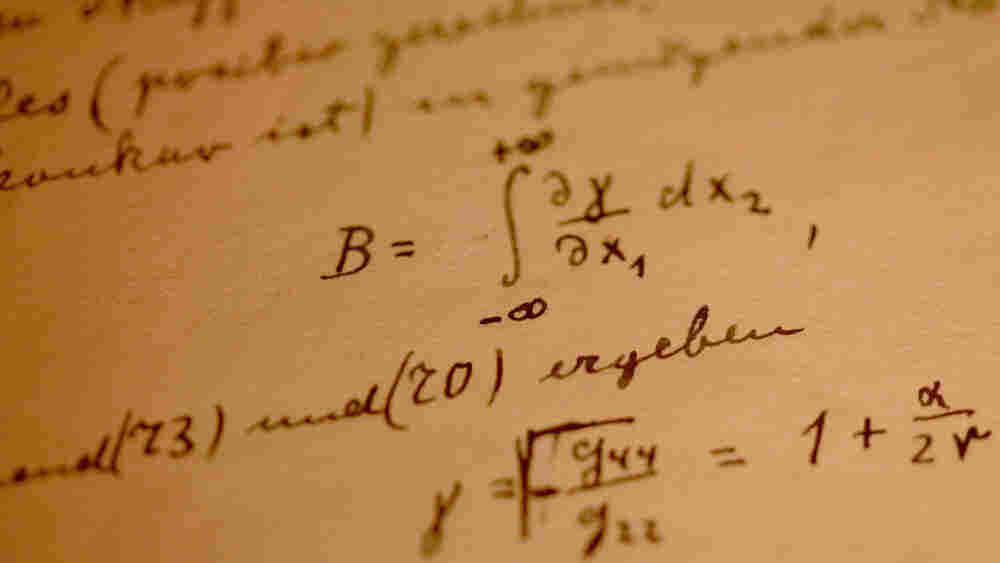 A page from Einstein's General Theory Of Relativity