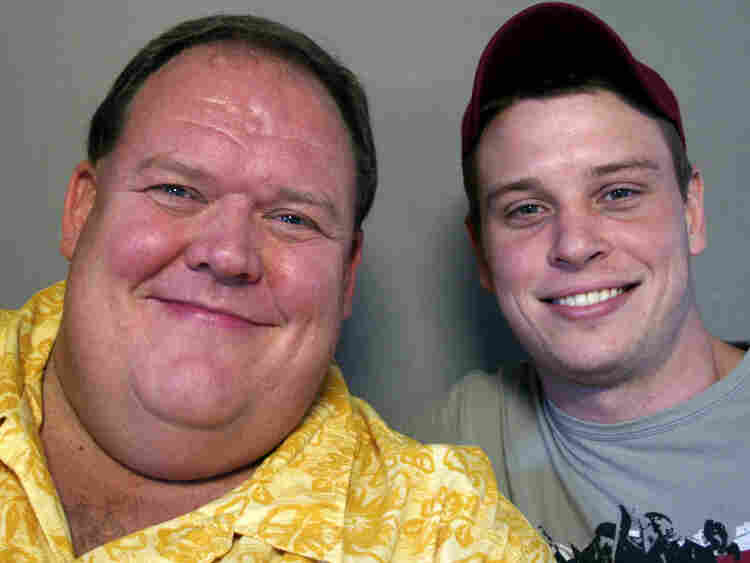 Kendall Bailey (right) spoke with his friend, Don Davis at StoryCorps in Virginia.