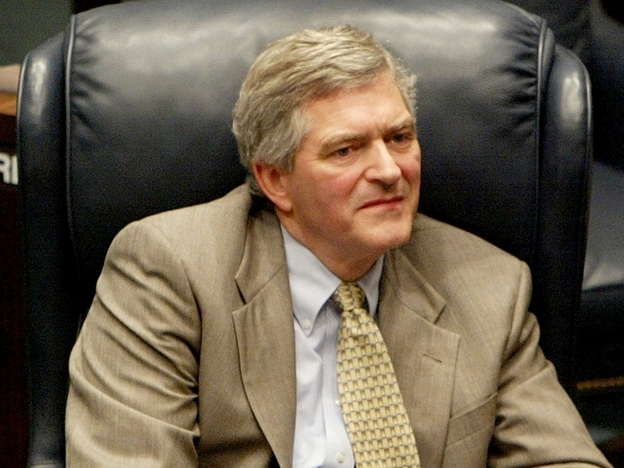 Longtime Florida state Sen. Dan Webster, pictured here in 2004, is well-known for his religious convictions and anti-abortion  stance.