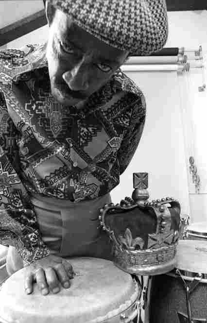"One of my favorite photos of Carlos ""Patato"" Valdez, taken in my photo studio in Hillsdale, N.J., circa 1975."