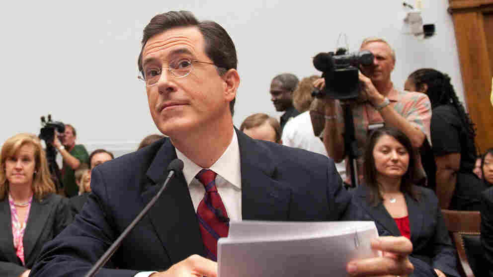 Colbert Testifying On Immigration