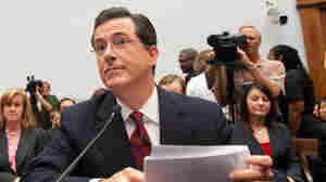 Colbert Bringing More 'Truthiness' To Capitol Hill Today