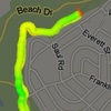 The Nike+ map.