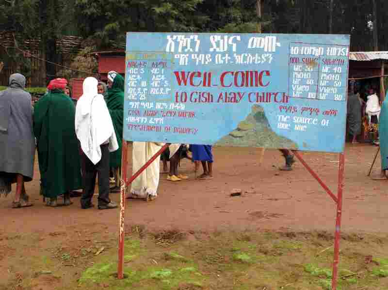 Visitors to this site in Gish Abay must meet a number of criteria set by the Ethiopian Orthodox Church to see a small spring believed to be the source of the Blue Nile.
