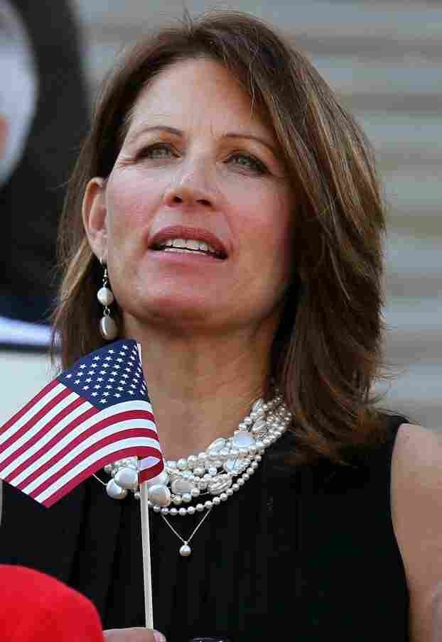 Rep. Michele Bachmann (R-MN) at a Sept. 11 remembrance ceremony on Sept. 15 in Washington.
