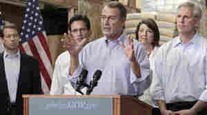 Reps. John Boehner, Eric Cantor, Cathy McMorris Rodgers, Kevin McCarthy,  Peter Roskam