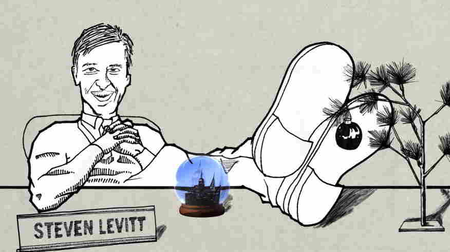 Illustration of Steven Levitt