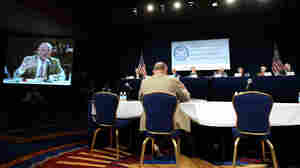Thad Allen testifies Monday before the presidential commission investing the Gulf of Mexico oil spill
