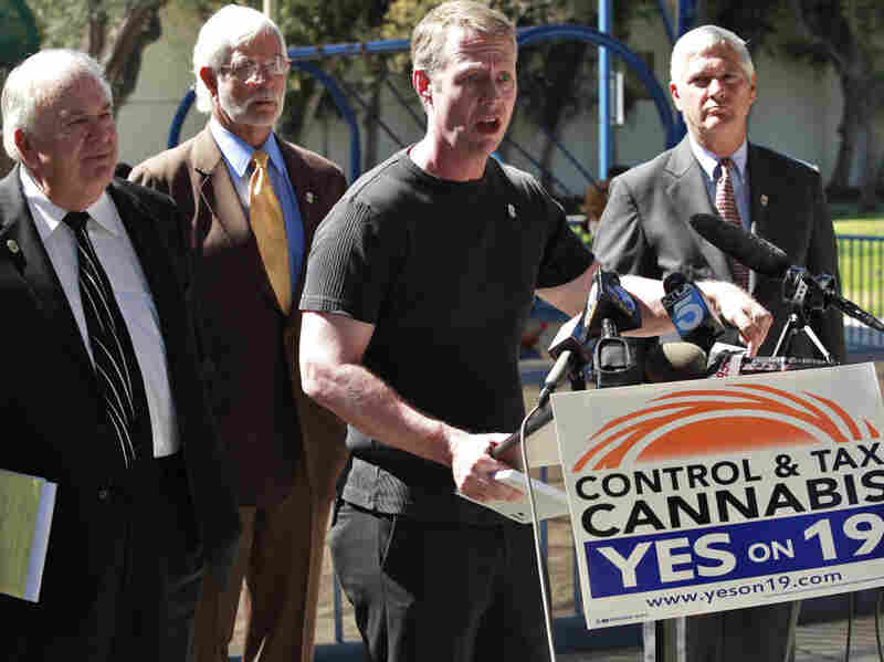 Members of Law Enforcement Against Prohibition support California's Proposition 19.