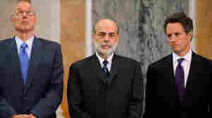 Henry Paulson, Ben Bernanke, Timothy Geithner