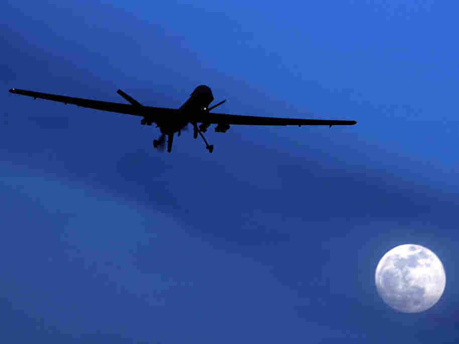 drone over kandahar