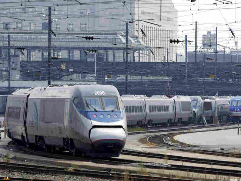 Acela Train Out Of Service
