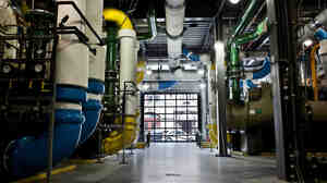 Veolia Energy's ice cooling facility in Baltimore.