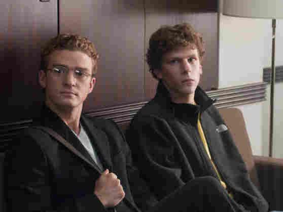 Justin Timberlake and Jesse Eisenberg