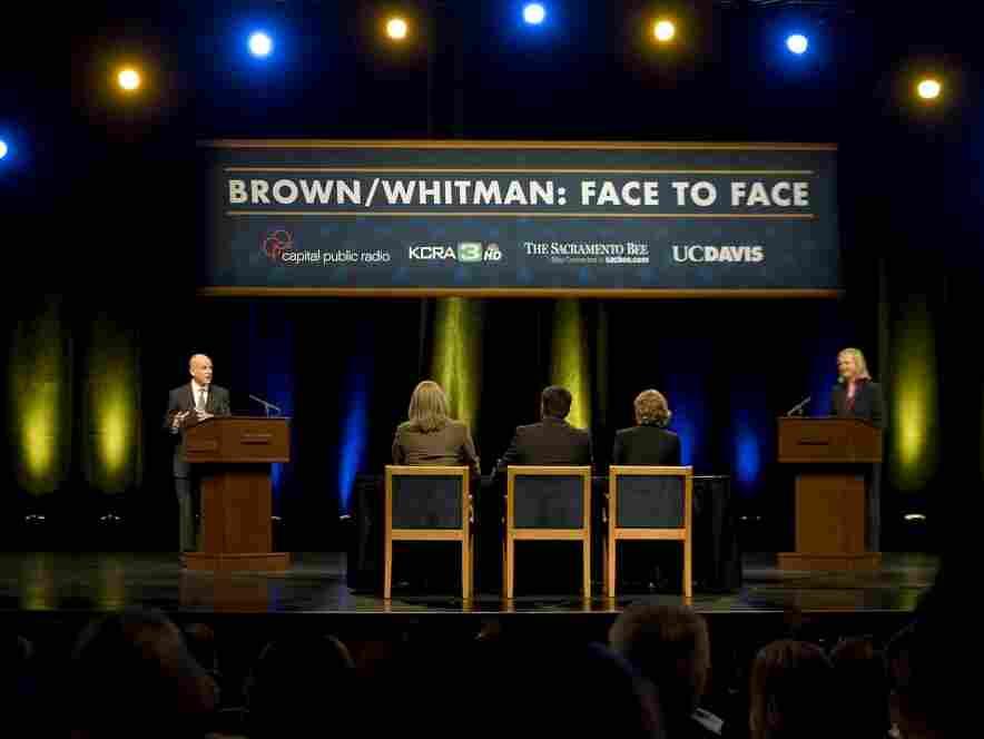 Jerry Brown, Meg Whitman debate