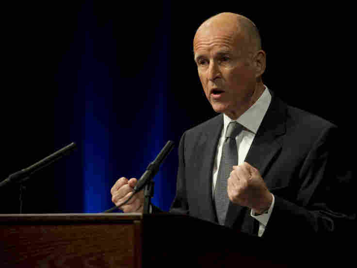 Jerry Brown, Democratic candidate for governor in California. Sept. 28, 2010.