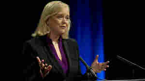 Meg Whitman, Republican candidate for governor of California, Sept. 28, 2010.