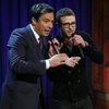Justin Timberlake and Jimmy Fallon on Late Night with Jimmy Fallon