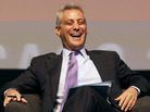 Rahm Emanuel, White House chief of staff, at a forum in Chicago on April 27.