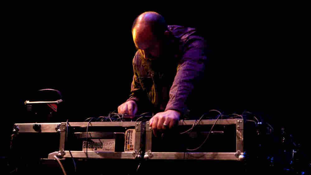 Keith Fullerton Whitman performs at the High Zero Festival.