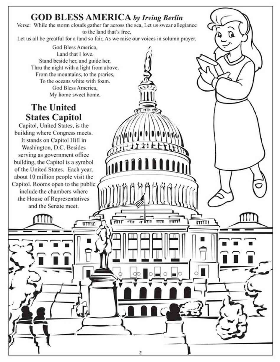 Texas Capitol Coloring PageCapitolPrintable Coloring Pages Free