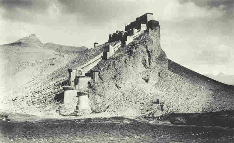 The photographs were taken by John Claude White, an officer during a British campaign in Tibet. It was the first time the British had been given access to the country.