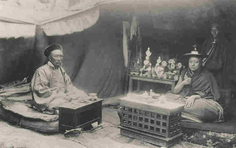 An album of extremely rare photographs taken in Tibet circa 1903 is being auctioned by Bonhams in London. These are the first known photographs to ever come out of the country.