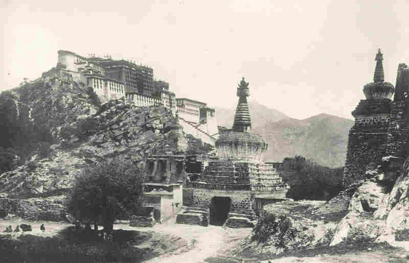 The British essentially forced their way into what had historically been a very closed country. And during the expedition, led by Major Francis Younghusband, nearly 700 Tibetan monks were killed at the village of Guru.