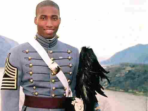 West Point graduate Anthony Woods
