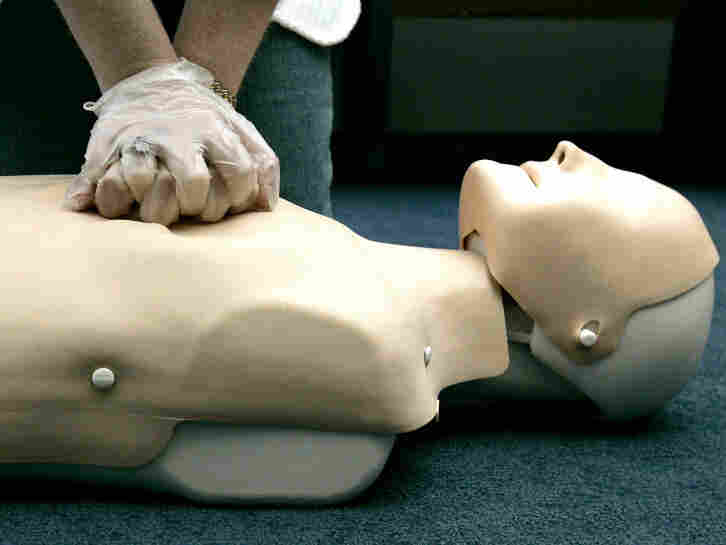 Mouth-to-mouth resuscitation may not be necessary.