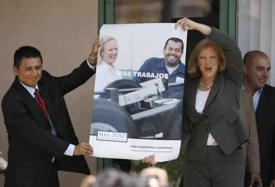 Meg Whitman and Latino voters