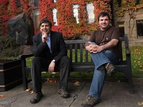 Nobel Prize Winners Geim and Novoselov