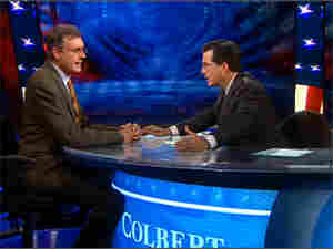 John Burnett on The Colbert Report, October 5, 2010