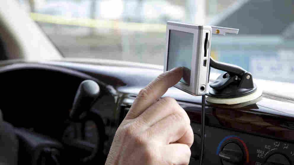 gps navigation in car