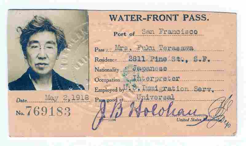 Of the 300,000 immigrants who passed through the Angel Island Immigration Station between 1910 and 1940, approximately 85,000 were Japanese. Fuku Terasawa was employed as a Japanese interpreter and matron at the station from 1912 to 1925.