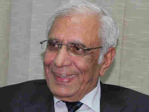 Mohammed Ziauddin, executive editor of the 'Express Tribune' newspaper