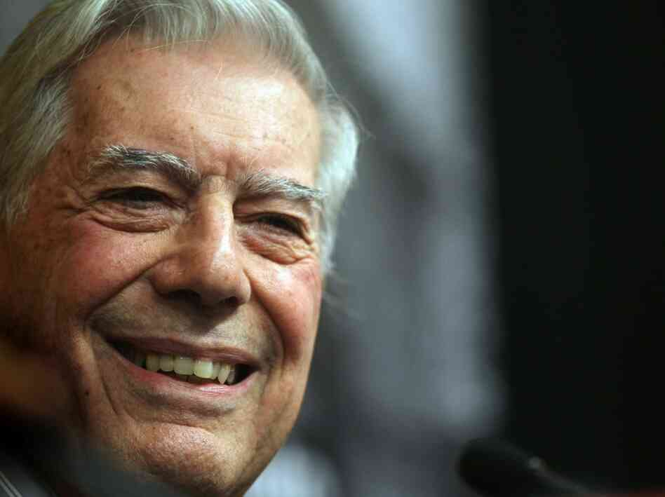 Peruvian Writer Mario Vargas Llosa Receives Nobel Prize For Literature