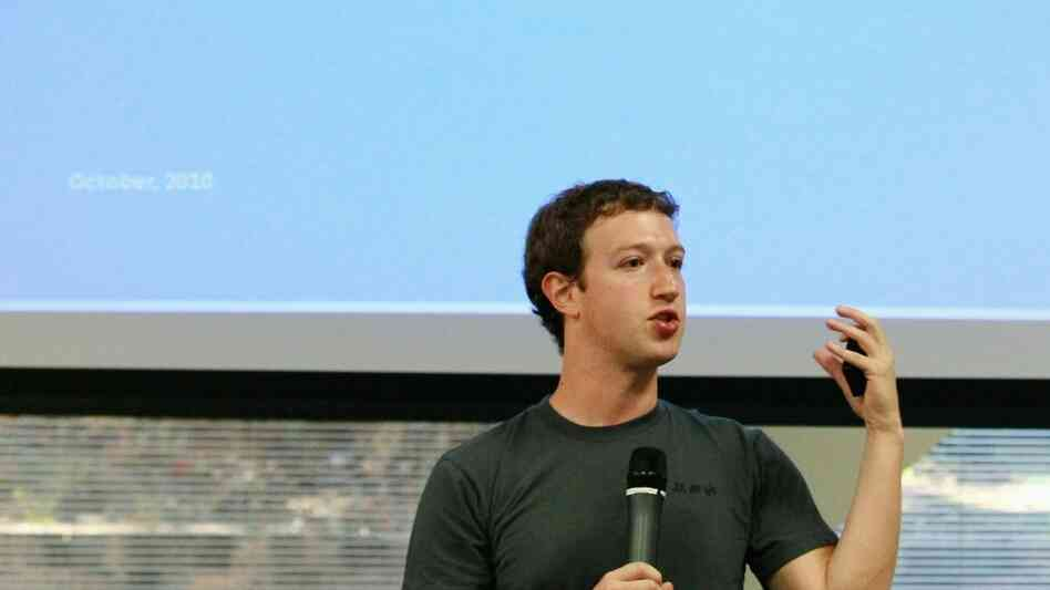 Facebook Makes Announcement At Its Palo Alto Headquarters
