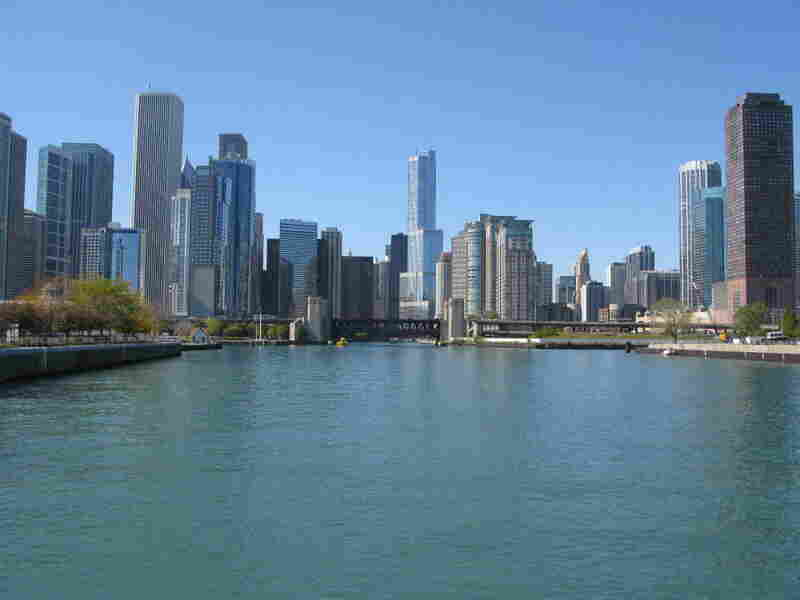 The Chicago River at Wolf Point