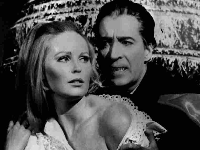 Christopher Lee and Veronica Carlson