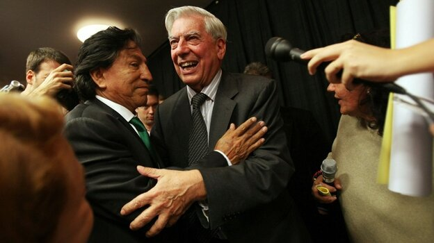 Peruvian Writer Mario Vargas Llosa Receives Nobel Prize For Literature. Mario Tama/Getty Images