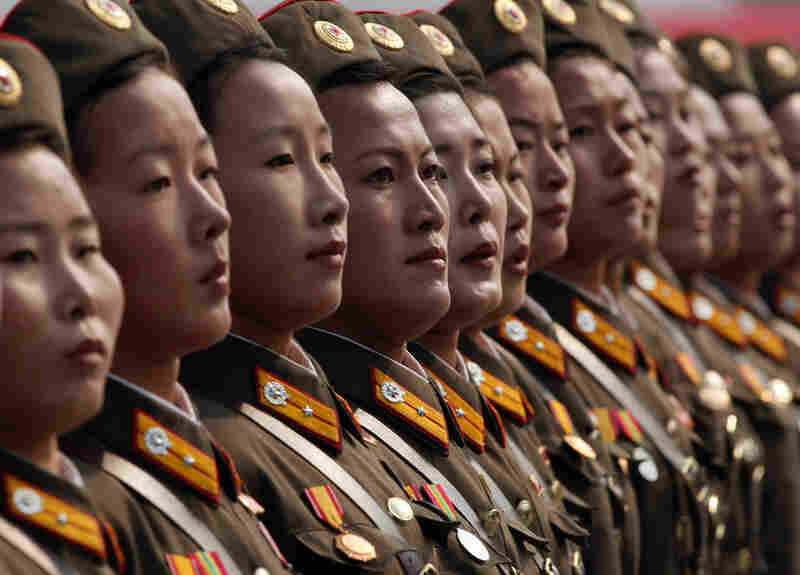 Every branch of North Korea's 1.2 million-member military marched in the parade.