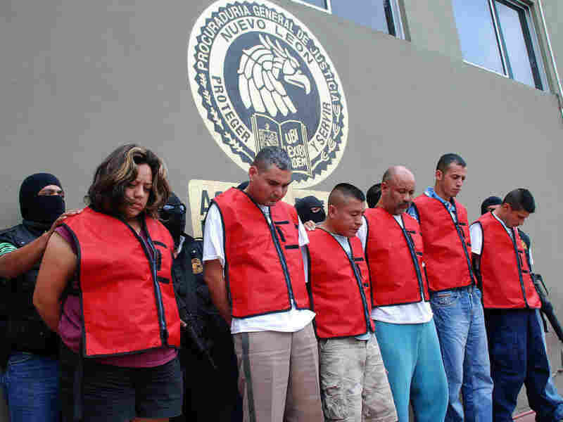 Six policemen accused of the kidnapping and murder of Cavazos