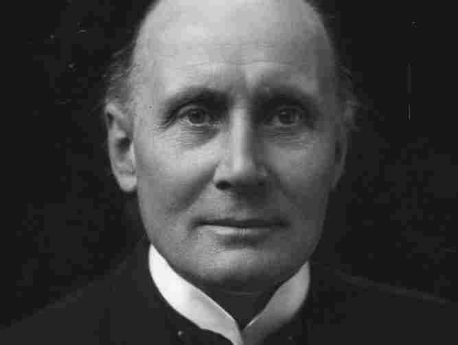 The English mathematician and Idealist philosopher Alfred North Whitehead, photograhed circa 1925.